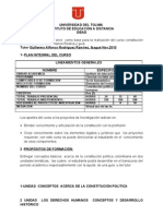 Complemento 1 Del Pic Universidad Del Tolima