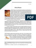 Pizza Pazza Case Document