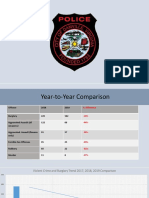 Presentation given at Danville Police Department new conference on Jan. 23, 2020