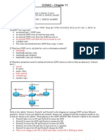 CCNA2 Chapter 11 Test