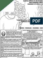 HOJITA EVANGELIO NIÑOS DOMINGO III TO A20