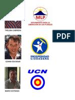 10 CANDIDATOS A PRESIDENTE Y VICEPRESIDNETE DE GUATEMALA