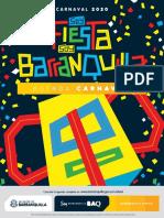 Agenda Carnaval de Barranquilla 2020