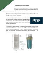 CONSTRUCCION DE COLUMNAS