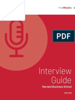mbaMission Harvard Business School Interview Guide 2019-2020