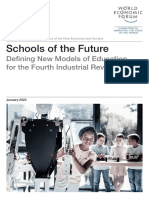 Schools of the Future Defining New Models of Education for the Fourth Industrial Revolution