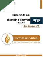 GUIA DIDACTICA 5 GERENCIA DE SERVICIOS DE SALUD