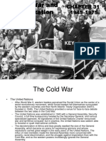 The Cold War and Decolonization ans