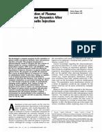 Computer simulation of plasma insulin