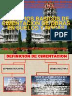 C 05 PRINCIPIOS BASICOS DE CIMENTACIONES EN SUELOS Y ROCAS