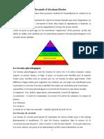 La Pyramide d'A Maslow.doc