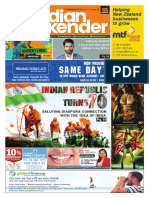 The Indian Weekender, Friday, January24, 2020 Volume 11 Issue 43