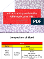 [M3] Approach to Full Blood Count (FBC)