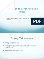[M3] Approach to Liver Function Tests