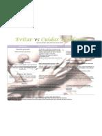 Poster_Cuidar vs Tratar Problemas Poster