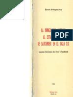 LA INMIGRACIÓN ALEMANA AL ESTADO SOBERANO DE SANTANDER EN EL SIGLO XIX - Horacio Rodríguez Plata