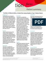 patient summary extra credit
