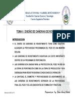 TEMA II DISEÑO CAÑERIAS PET-201 U.A.G.R..M EAV