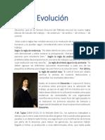 EVOLUCION TIEMPOS