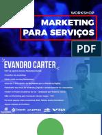 curso marketing de servicos