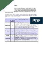 UDP Message Format