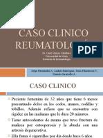 CASO CLINICO Reumatología