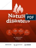 CRED Natural Disaster 2018