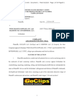 GoClips v. Web Granite Supplies - Complaint (sans exhibits)