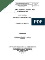Psicologia Organizacional I UNIFICADA