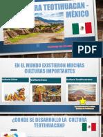 Cultura teotihuacan - México