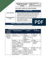 ANEXO 137 Descripcion del perfil del auditor interno