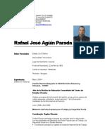 Currculum profesional RAFAEL JOSE AGUIN.doc