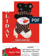 Holiday Events Guide 2010