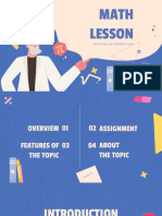 Math Lesson by Slidesgo