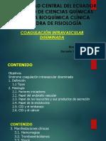 CID coagulación introvascular diseminada