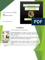 fitoextracción de arsenico