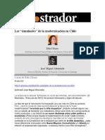 Los simulantes de la modernización en Chile $$$