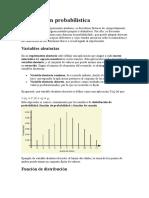 Distribución probabilística