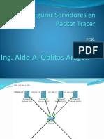Configurar Servidores en Packet Tracer