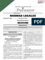 Decreto de Urgencia Nº 016-2020