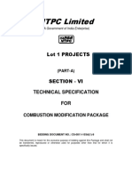 Technical Specification Combustiom Modifications Lot 1 for Tender(1)