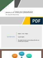 CRT - Basics of English Grammar