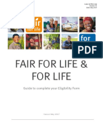 FFL & FL Guidance to fill the Eligibility Form