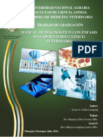 Manual de diagnostico con enfasis en laboratorio clinico veterinario