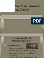 How the World and Mankind was Created.ppt