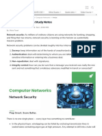 Network Security on Study Notes