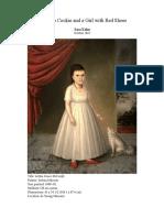 Visual Analysis of Joshua Johnson's painting