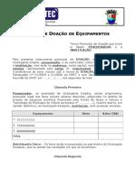 Formulario FACITEC PC 015