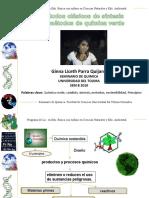 semiinario quimica verde