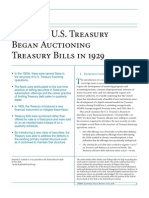 Why the U.S. Treasury Began Auctioning Treasury Bills in 1929